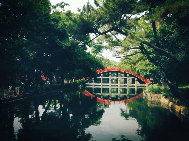 Osaka Sumiyoshi Taisha shrine