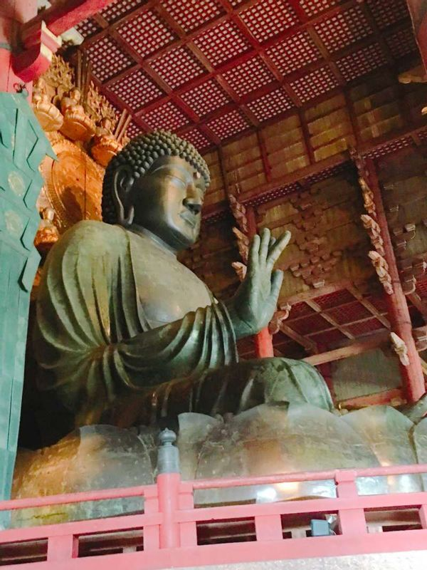 Great Buddha statue Nara