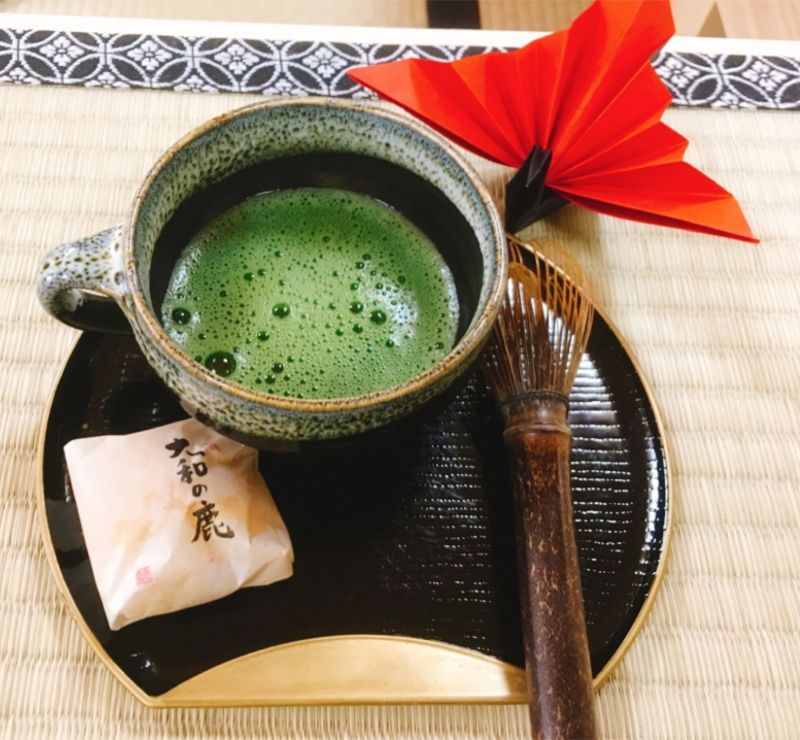 Tea ceremony and make your own matcha experience at Nara