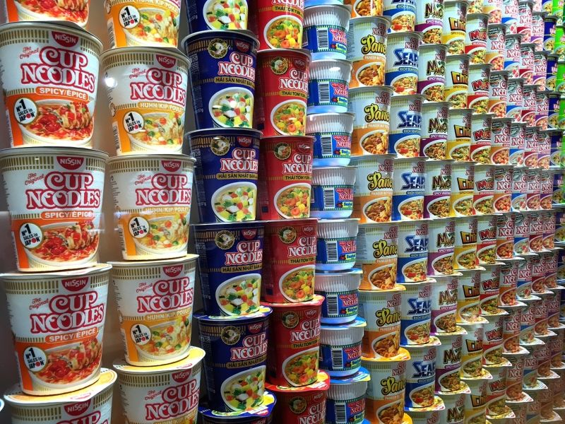 Cup Noodle Museum in Osaka Do you know?? Instant ramen was born in Osaka!!