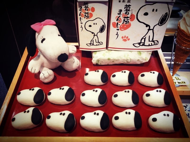 Kyoto SNOOPY CAFE has japanese style of SNOOPY !!