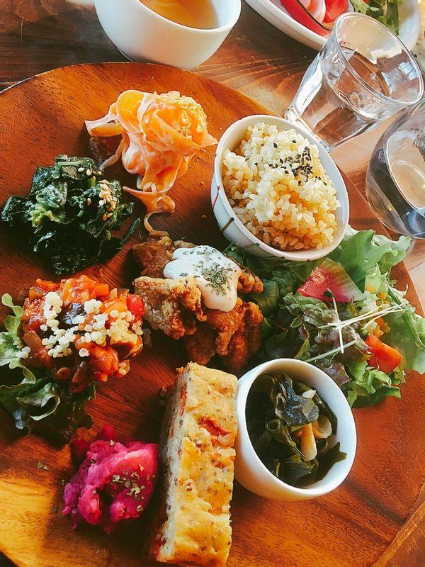 Beautiful old capital Kyoto has beautiful vegan meal restaurant!