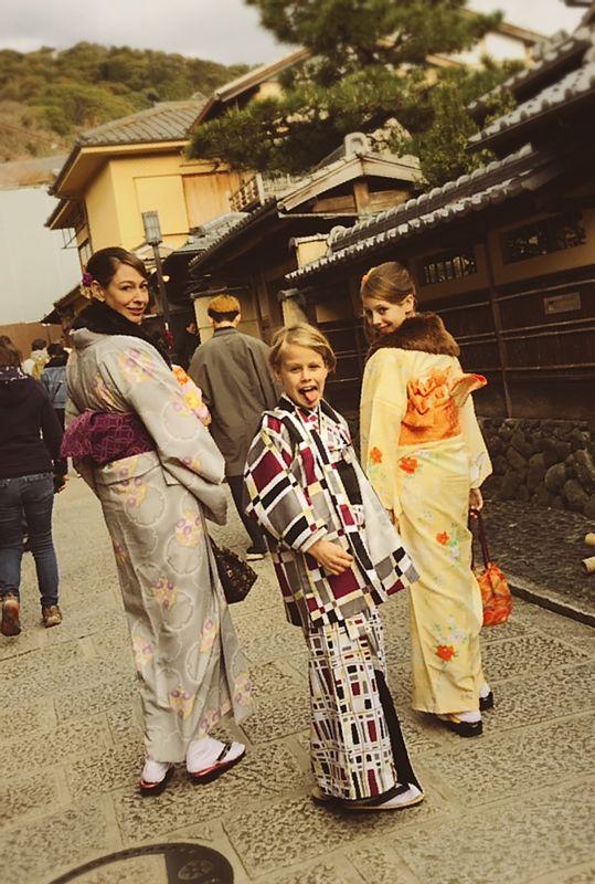 Explore kyoto with Kimono