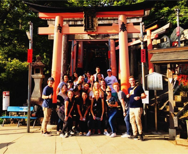 University of Utah School trip to Kyoto!