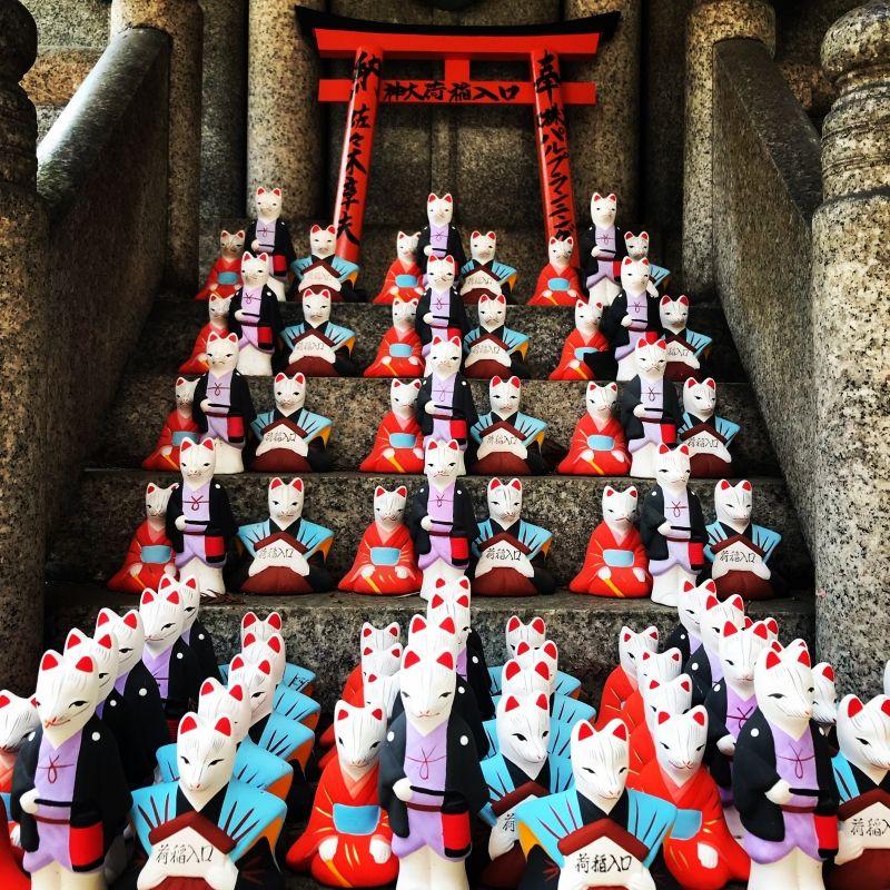 Fox shrine!!