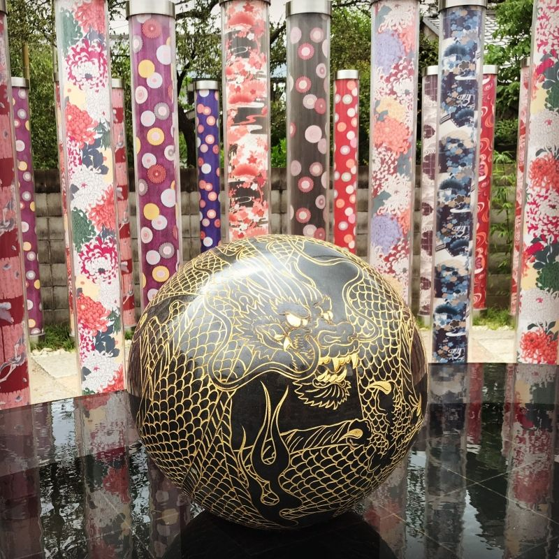 Inside of Kimono forest, there is a Dragon ball!