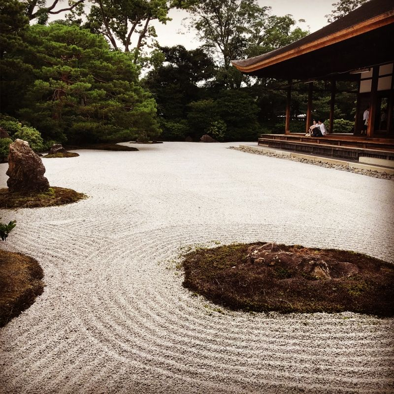 Peaceful Zen garden