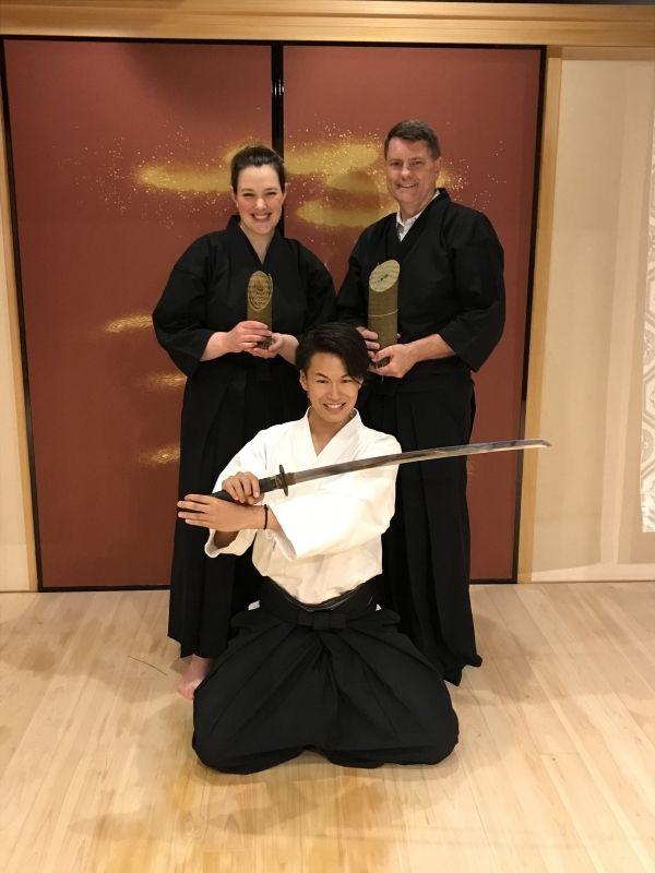 Samurai experience is super cool!!