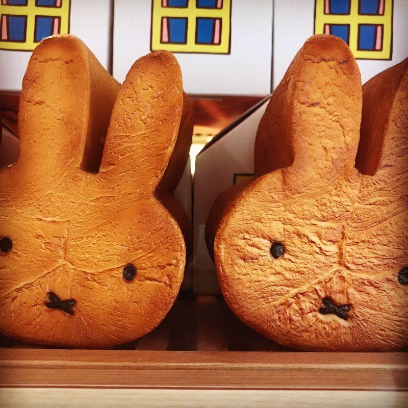 Cute! Miffy loaf bread!!