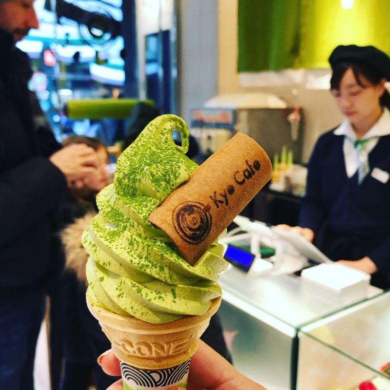 Must try! Matcha ice cream!