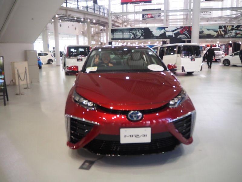 ☆Fuel cell electric vehicle, Mirai ☆丰田燃料电池汽车【未来】