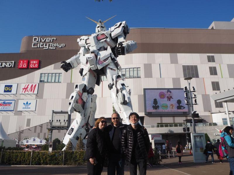 ☆Life sized Gundam state at Odaiba☆