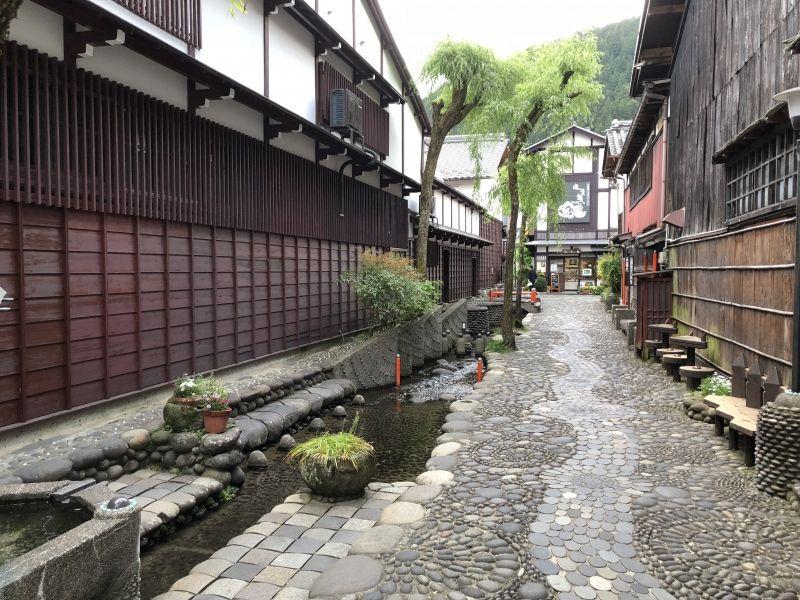 A pocket park called 'Yanaka Mizu no komichi'