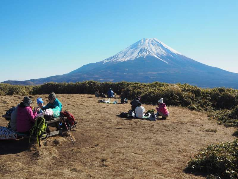 Hiking Tour around Mt. Fuji