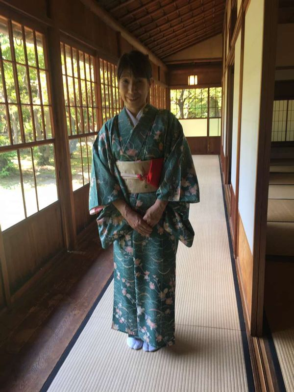 Let's try yukata!