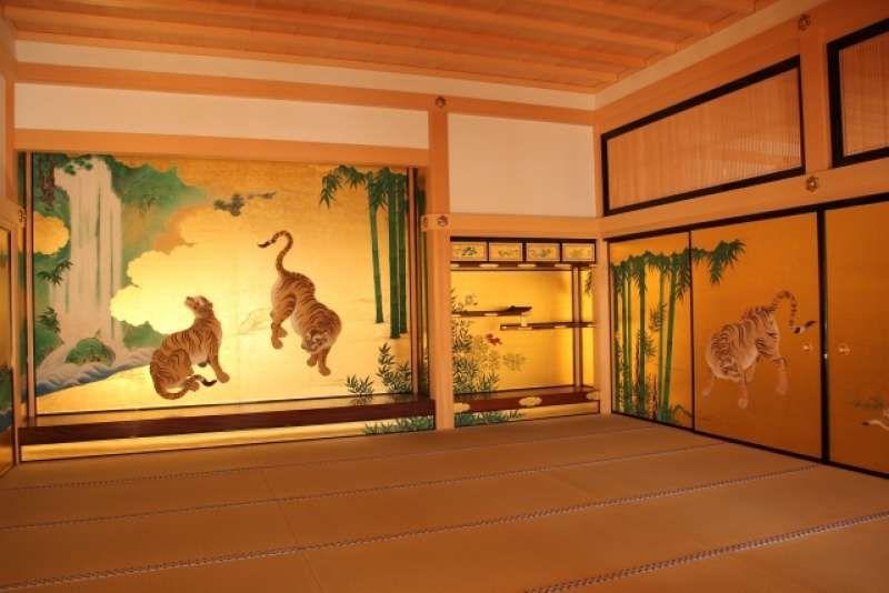 Nagoya Castle Honmaru Palace, reconstruction finished in June 2018.