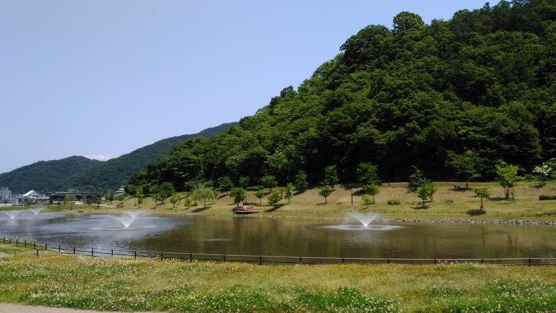 Refreshing Atago Pond