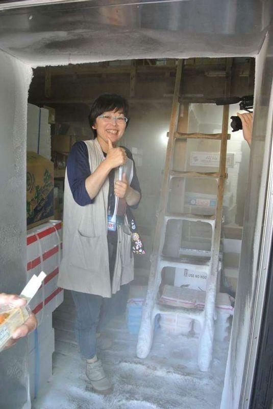 Me at Kagoshima fish market