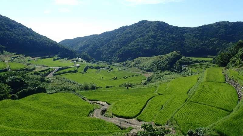 KASUGA no Tanada (terraced paddy field) KASUGA Community, HIRADO, Nagasaki pref. World Heritage site