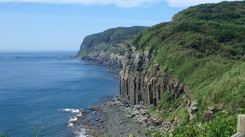 SHIODAWARA Cliff HIRADO, Nagasaki pref.