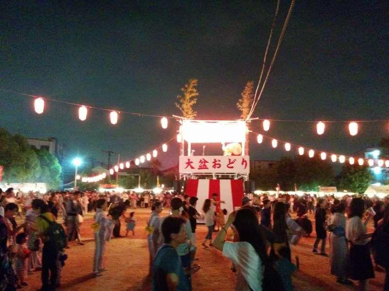 Summer Bon Dance Festival(Osaka)