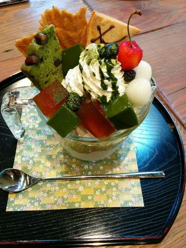 Matcha Sweets(Yummy!)