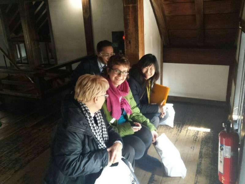 Inside Inuyama castle
