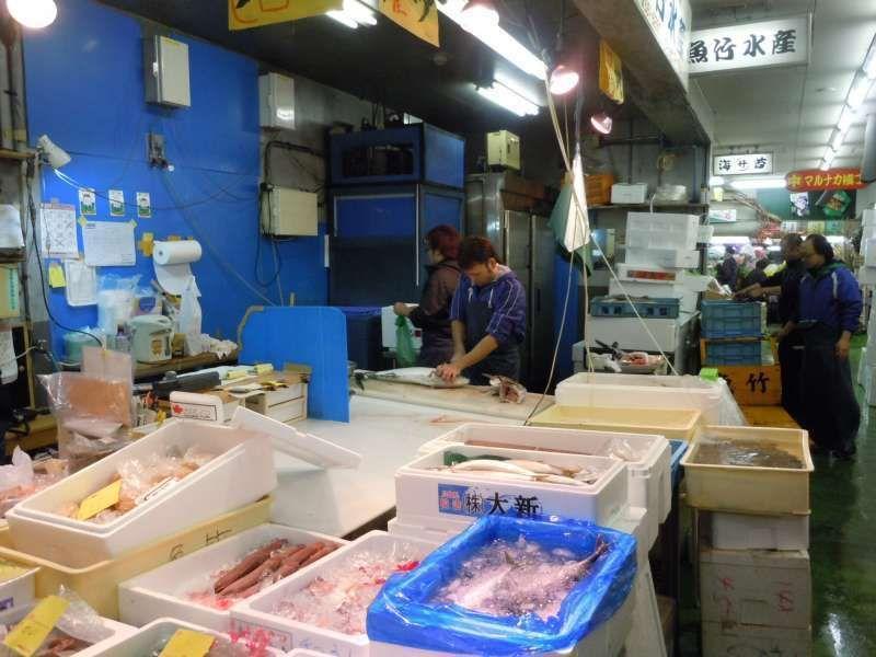 Yanagibashi fish market