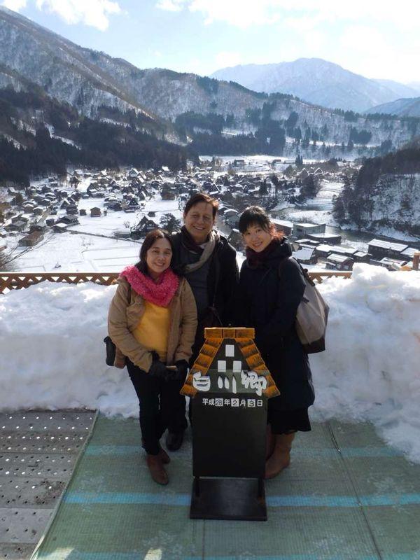 At Shirakawago