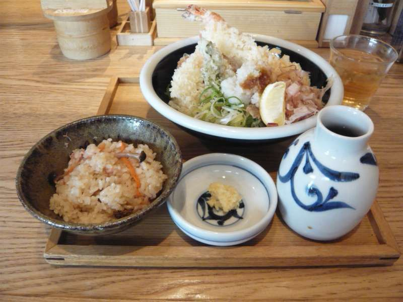 Let's try Japanese lunch as we Japanese have.