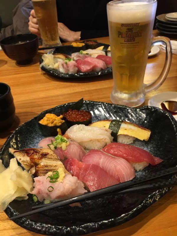 Enjoy good quality super fresh Sushi!