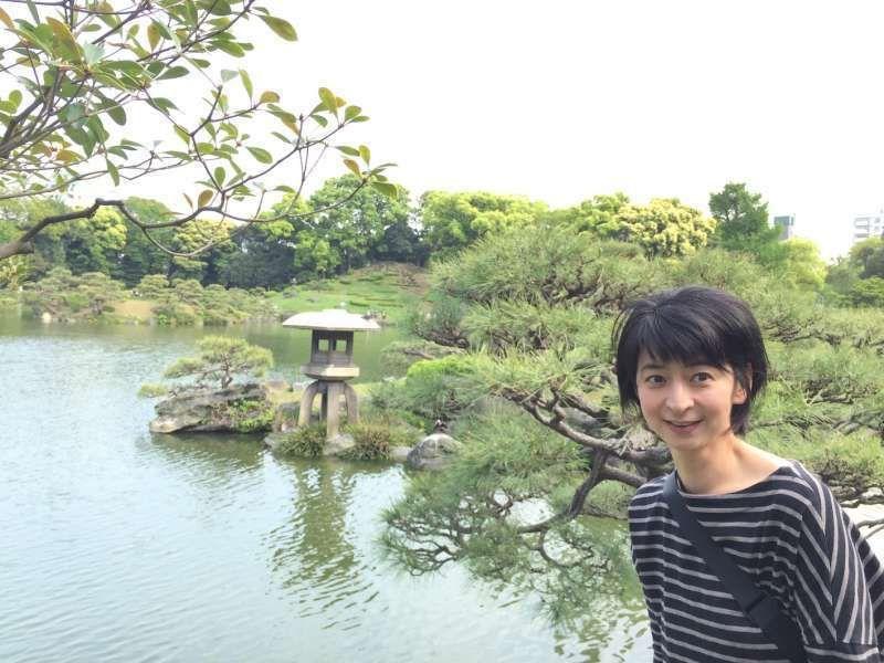 visiting Japanese garden