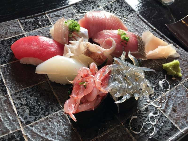 How about fantastic Sushi Lunch?