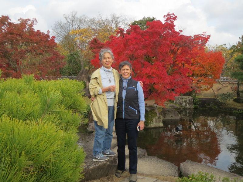 in the Japanese garden: Koko-En in autumn
