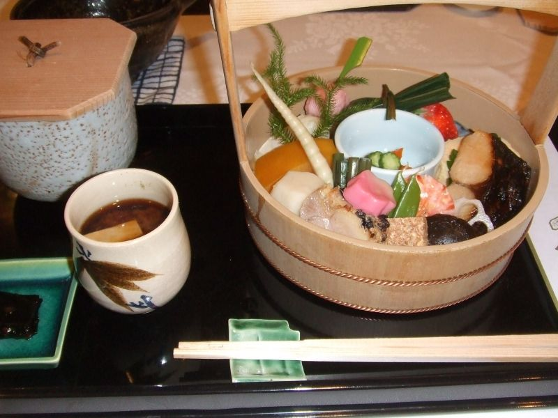 You can enjoy all the sophisticated and traditional meal in Kyoto.