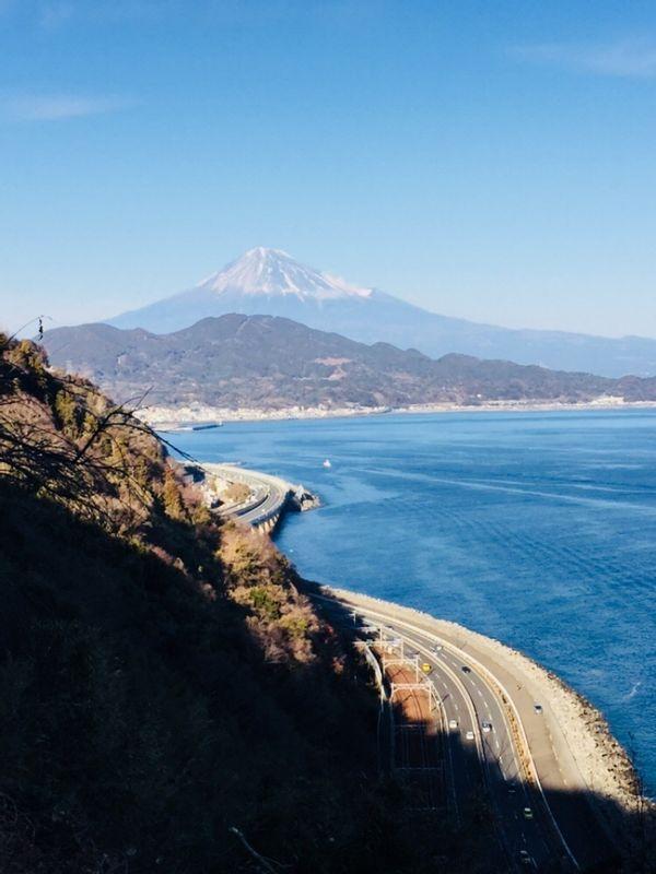 Satta touge, Mt Fuji