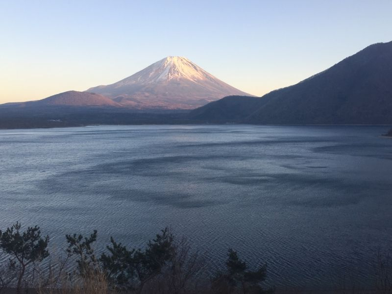 Mt. Fuji, Motosu lake