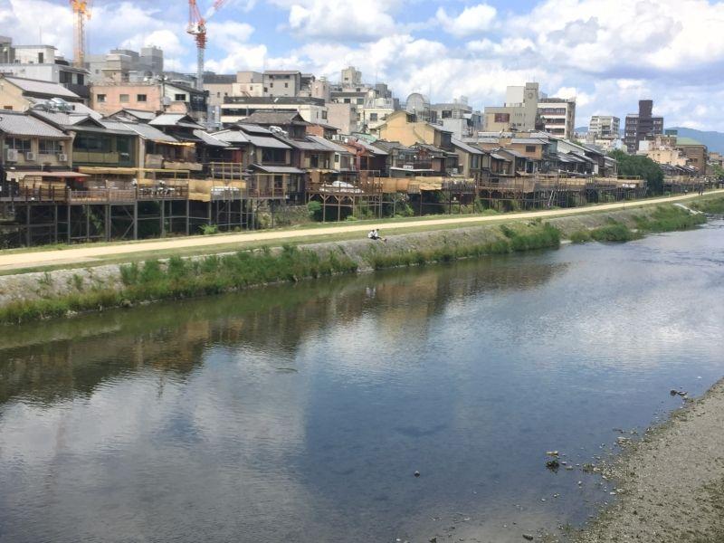 Kamo river(Kyoto)