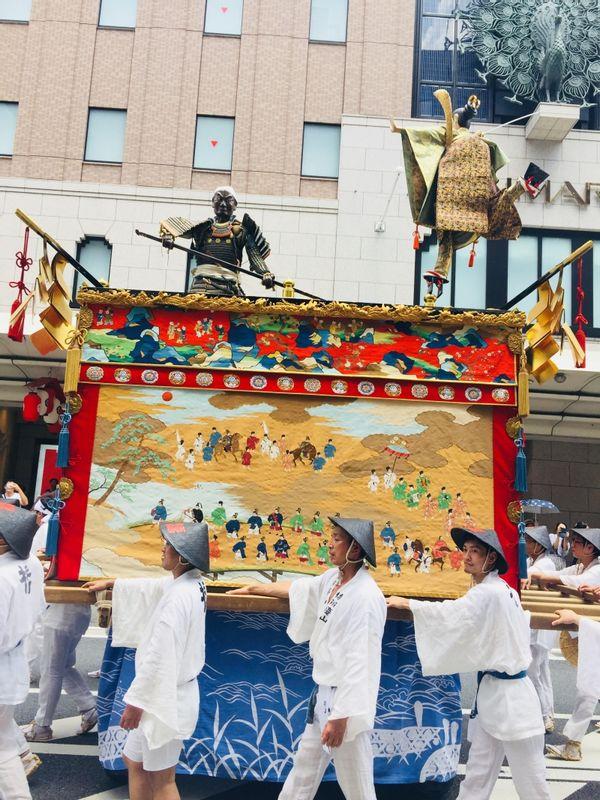 Gion Festival(No.1 famous festival in Kyoto)