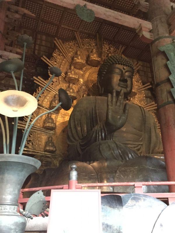 Big Buddha statue(Nara)