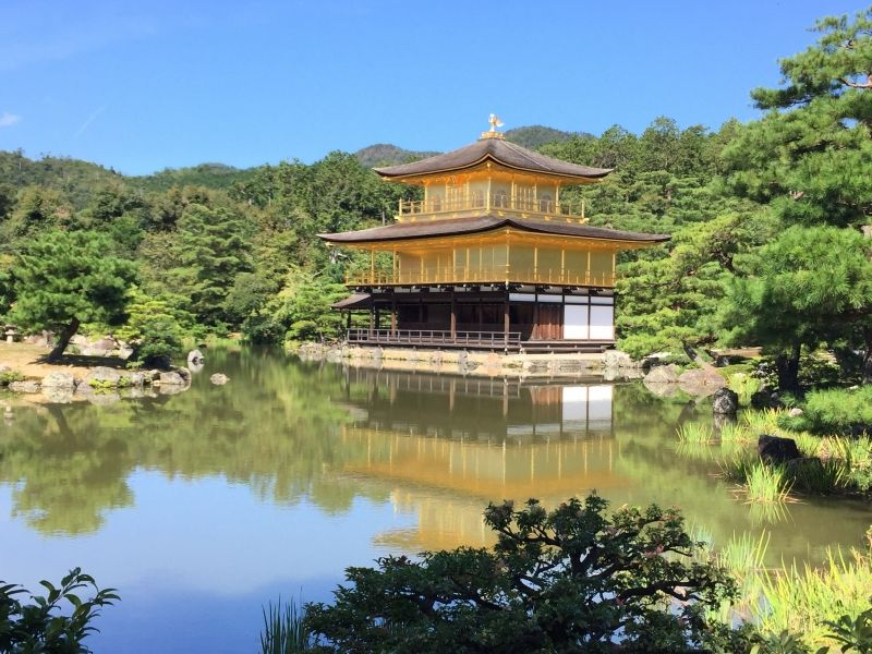 Kinkakuji(Golden pavilion)