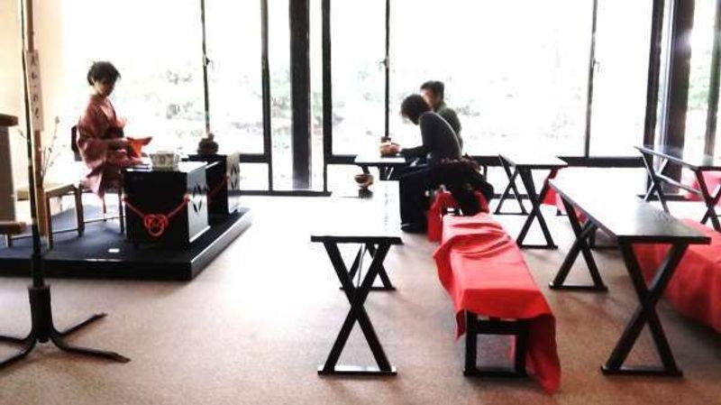 Sankei-en, lugar de la ceremonia del té