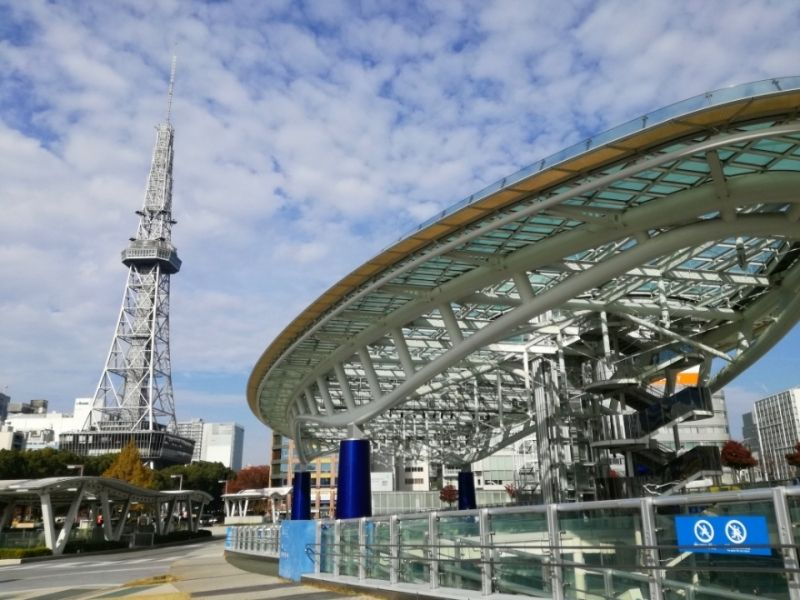 Sakae Oasis 21 & TV tower! Visit here in Nagoya Highlight Tour!