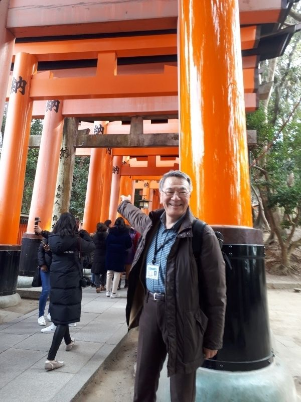 This is Fushimi Inari Shrine located in Kyoto,ranked No.1 spot on Trip Adviser 2018 best attraction in Japan. 