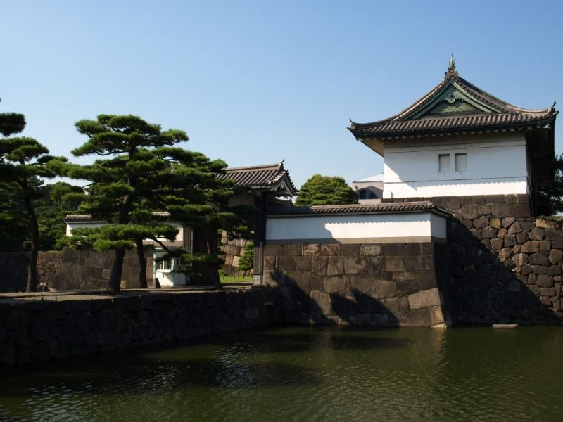 The Imperial Palace in the middle of the downtown Tokyo. Japan's imperial system has been in existence for 1300 years.