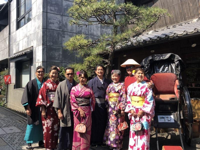 Kawagoe walk with Kimono!
