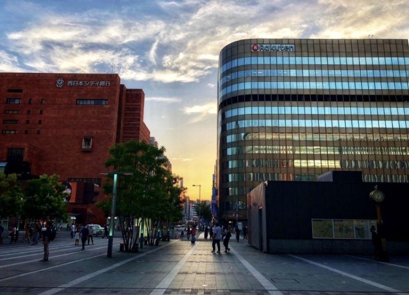 Hakata Station area.