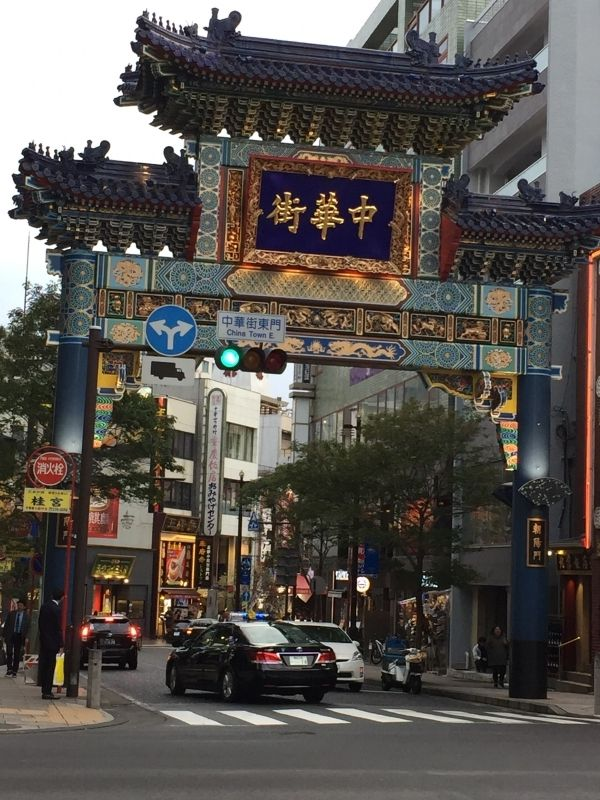 China town in Yokohama is one of the biggest China towns in the world.