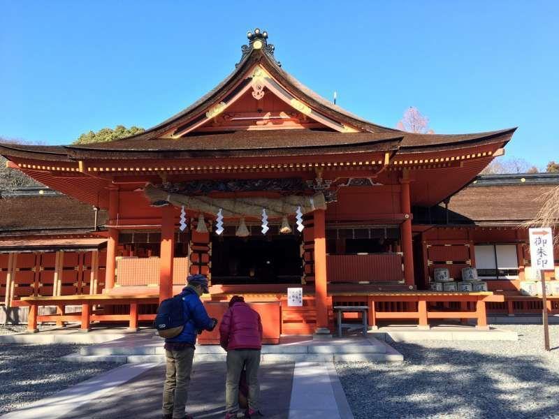 Main building of Sengen shrine