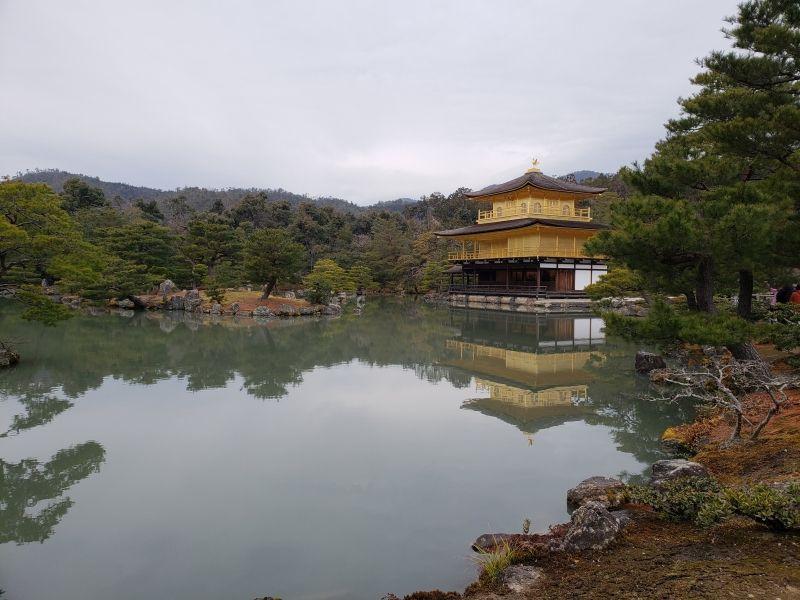 Kinkaku-ji Temple (Golden Pavilion) in Kyoto